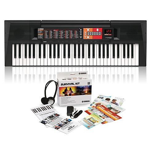 Yamaha PSR-F51 61-Key Portable Keyboard with Survival Kit A2-thumbnail