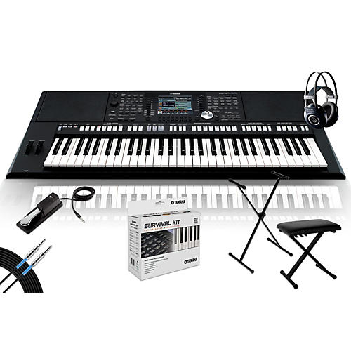 Yamaha psr s950 with m90 mkii bench stand sustain for Yamaha psr s950 for sale