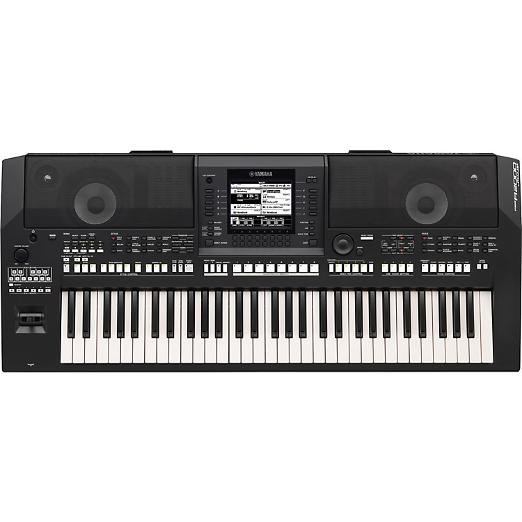 Yamaha PSRA2000 61-Key Arranger Workstation Black