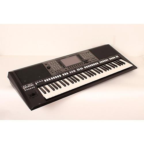 Open box yamaha psra3000 61 key arranger keyboard black for Yamaha a3000 keyboard