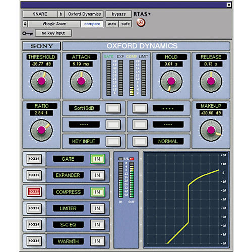 Sony PTL-DYNG2 Oxford Dynamics Plug-in for Pro Tools LE-thumbnail