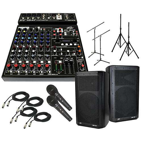 Peavey PV 10 AT with DM 112 PA Package-thumbnail