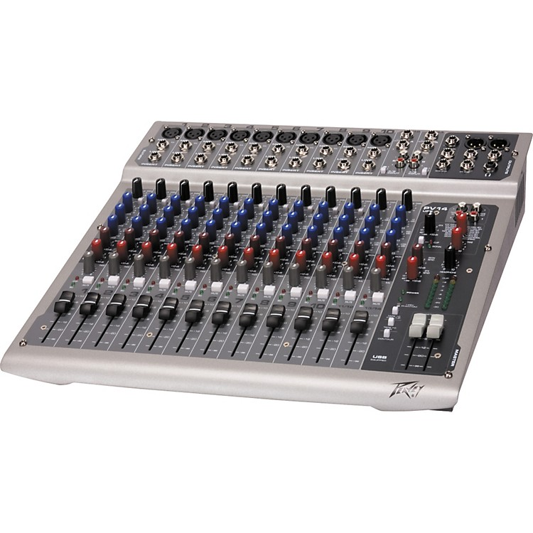 PeaveyPV 14 USB 14-Channel Mixer with Digital Output and Effects