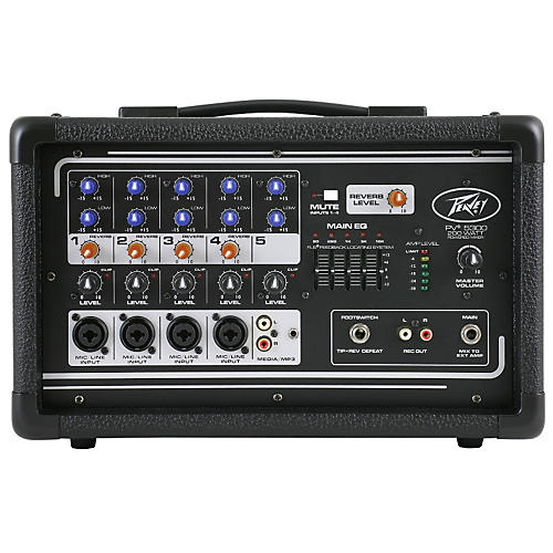 Peavey PV 5300 5-Channel Powered Mixer-thumbnail
