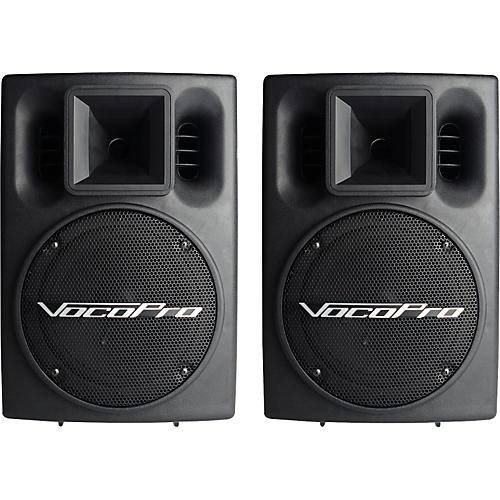 VocoPro PV-802 Powered Speaker System-thumbnail