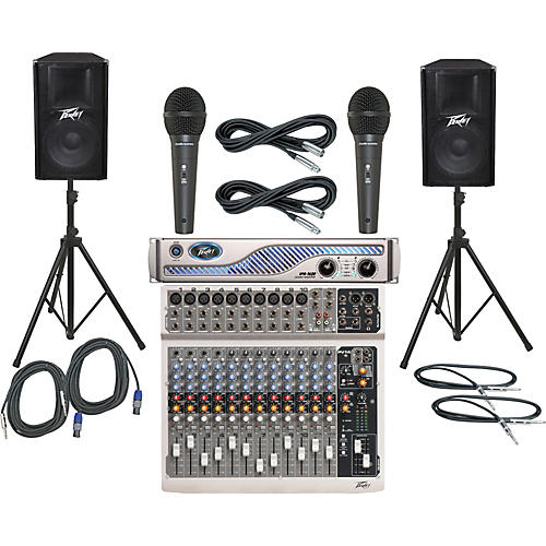 Peavey PV14 / IPR 1600 / PV115 PA Package-thumbnail