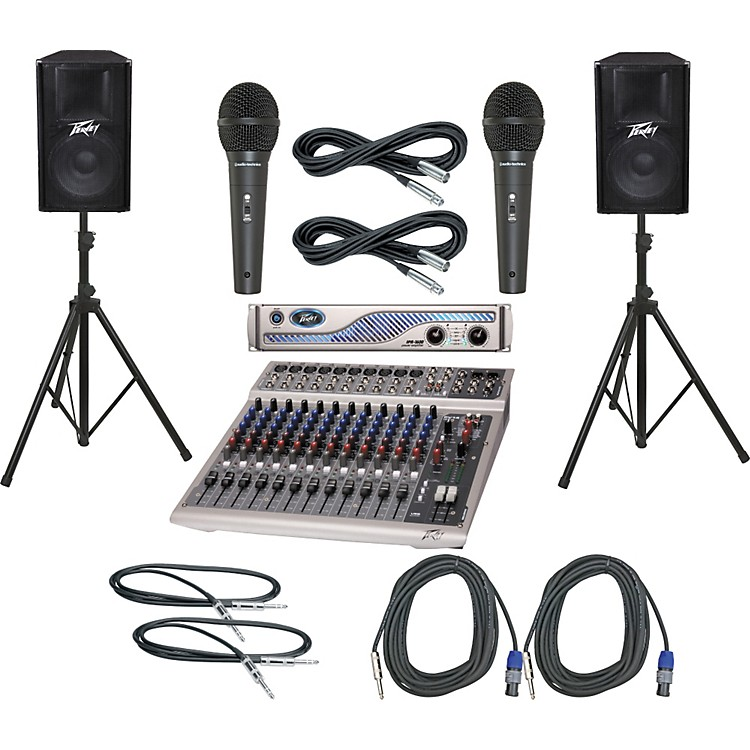 Peavey PV14 USB / IPR 1600 / PV115 PA Package