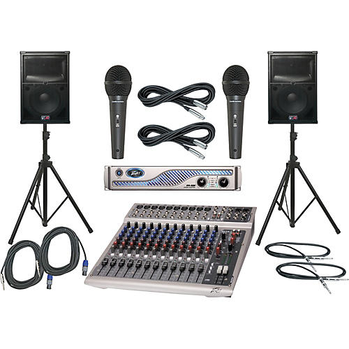 Peavey PV14 USB / IPR 3000 / SP2 PA Package