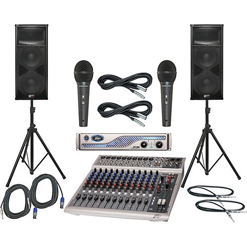 Peavey PV14 USB / IPR 3000 / SP4 PA Package-thumbnail