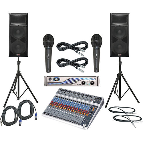 Peavey PV20 USB / IPR 3000 / SP4 PA Package-thumbnail