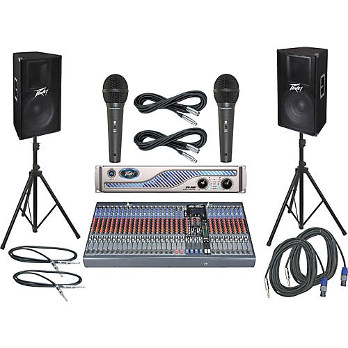 Peavey PV32FX / IPR 3000 / PV115 PA Package