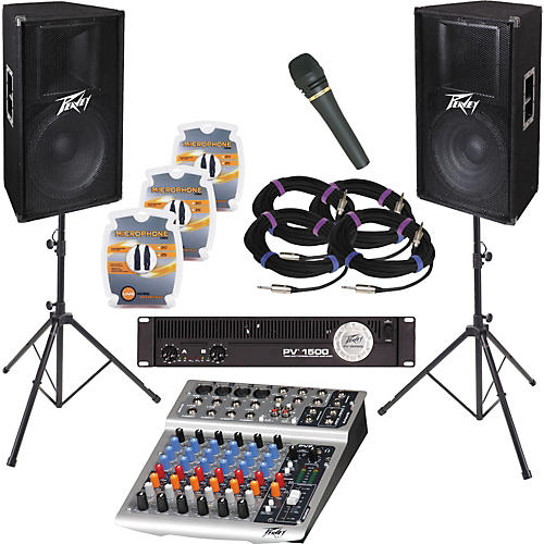 Peavey PV8 and PV115 PA Package