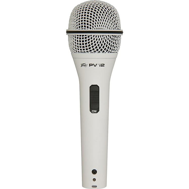 PeaveyPVI 2 White 1/4 Dynamic Handheld Microphonewhite