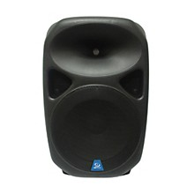 "Open Box Gem Sound PXB150USB 15"" Powered Speaker with USB/SD Media Player/Wheels"