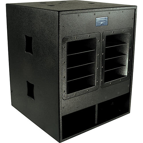 american audio pxw18p 18 powered subwoofer musician 39 s friend. Black Bedroom Furniture Sets. Home Design Ideas