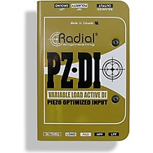 Open BoxRadial Engineering PZ-DI Acoustic/Orchestral Instrument Active Direct Box