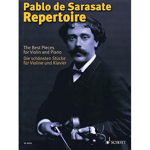 Schott Pablo de Sarasate Repertoire Schott Softcover Composed by Pablo de Sarasate Edited by Wolfgang Birtel