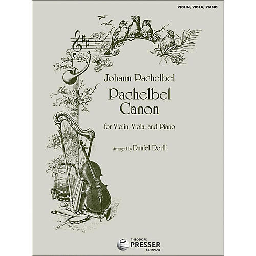 Carl Fischer Pachelbel Canon - Violin/Viola/Piano-thumbnail