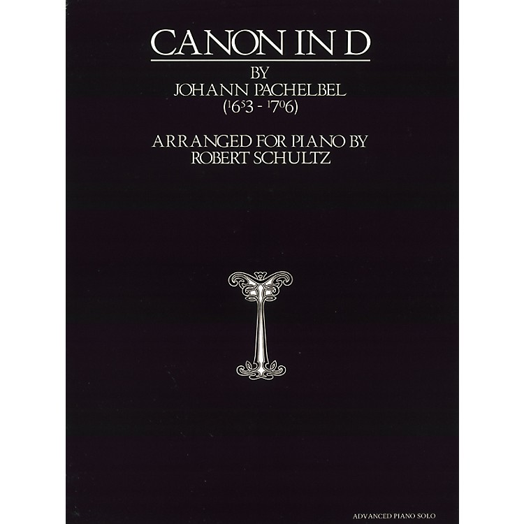 AlfredPachelbel Canon in D Advanced Piano