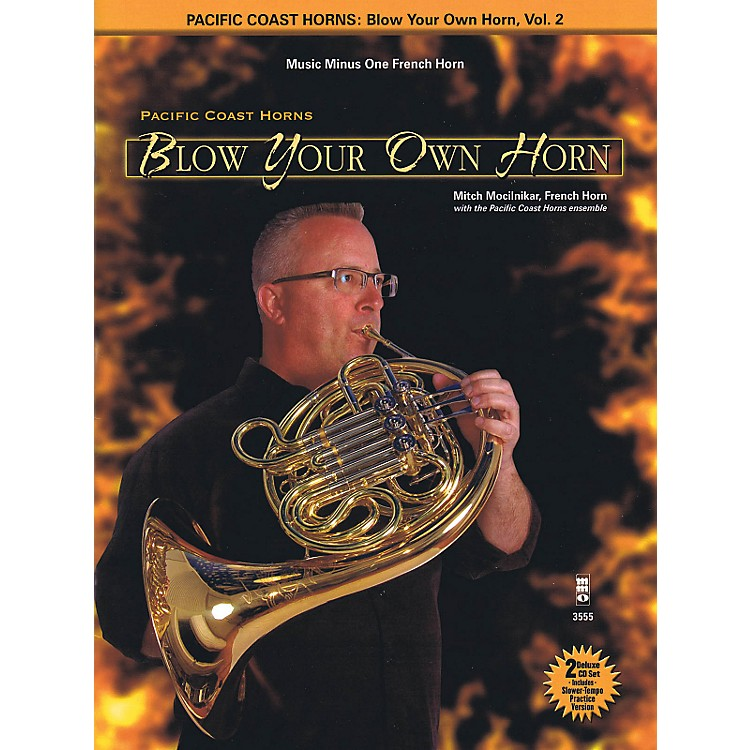 Hal Leonard Pacific Coast Horns - Blow Your Own Horn, Vol. 2 for French Horn Book/2CD