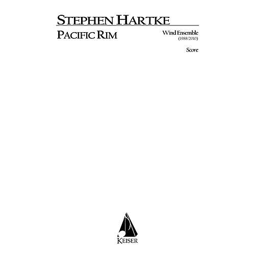 Lauren Keiser Music Publishing Pacific Rim for Wind Ensemble (Full Score) LKM Music Series by Stephen Hartke-thumbnail