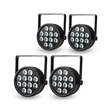 Proline Package of 4 ProLine VENUE ThinTri64 RGB LED PAR Stage Wash Lights