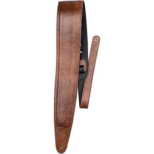 Perri's Padded Garment Italian Leather Guitar Strap-thumbnail