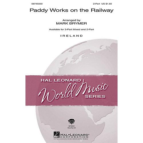 Hal Leonard Paddy Works on the Railway ShowTrax CD Arranged by Mark Brymer-thumbnail