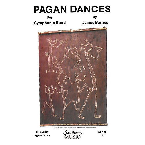 Southern Pagan Dances (Oversized Full Score) Concert Band Level 5 Composed by James Barnes