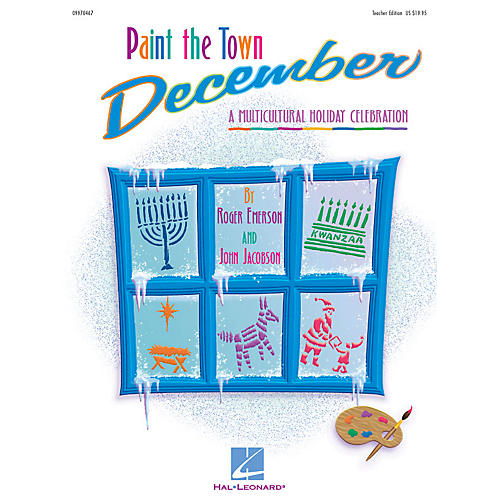 Hal Leonard Paint the Town December (Holiday Musical) Singer 5 Pak Composed by Roger Emerson-thumbnail