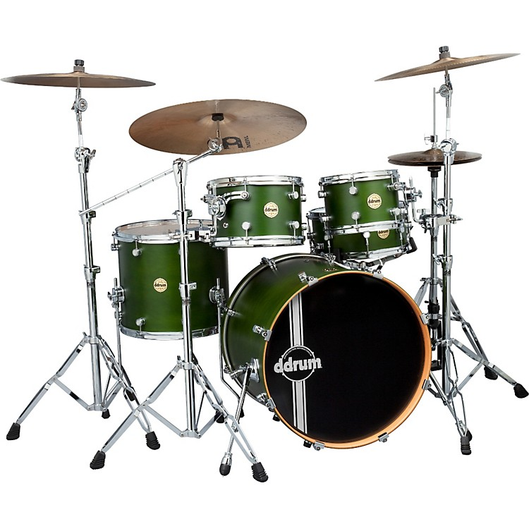 ddrumPaladin Maple 5-Piece Shell PackZombie Green Stain