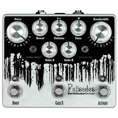 EarthQuaker Devices Palisades Mega Ultimate Overdrive Guitar Effects Pedal-thumbnail