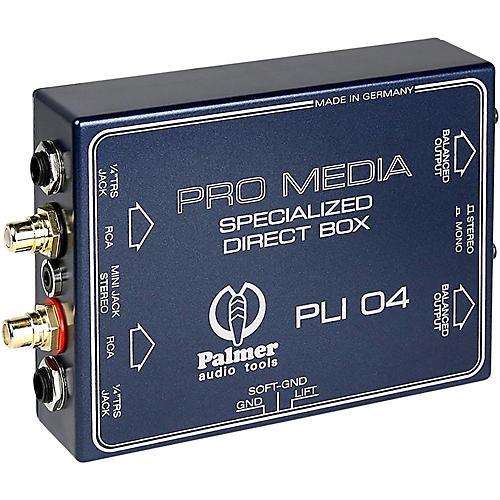 Palmer Audio Palmer Audio PLI 04 Line Isolation Box 2 Channel-thumbnail