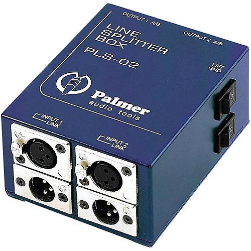 Palmer Audio Palmer Audio PLS 02 Dual Channel Line Splitter-thumbnail