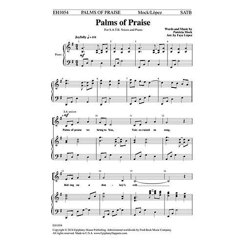 Epiphany House Publishing Palms of Praise SATB arranged by Faye López-thumbnail