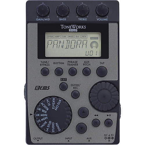 Korg Pandora PX4D Guitar Multi Effects Processor