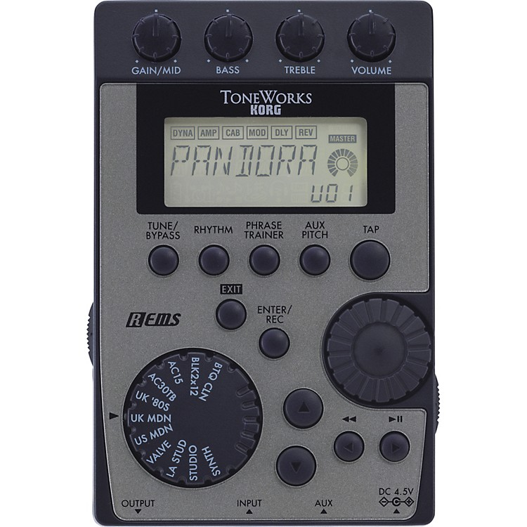 KorgPandora PX4D Guitar Multi Effects Processor