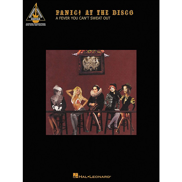 Hal LeonardPanic! At The Disco - A Fever You Can't Sweat Out Tab Book
