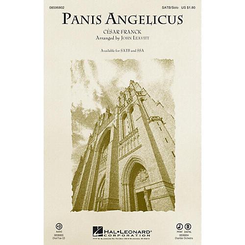 Hal Leonard Panis Angelicus CHOIRTRAX CD Arranged by John Leavitt-thumbnail