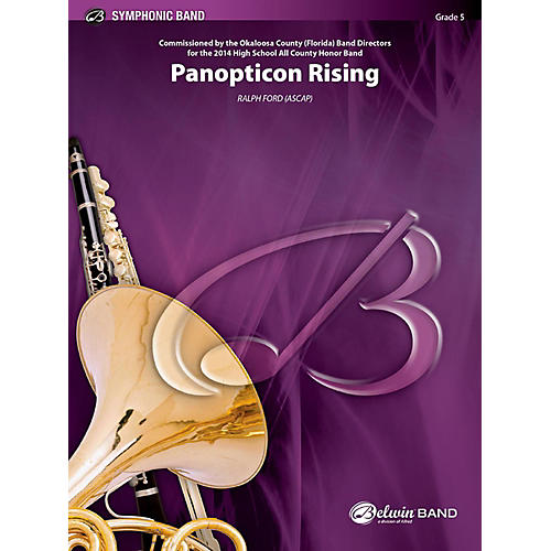 BELWIN Panopticon Rising Concert Band Grade 5 (Difficult)-thumbnail
