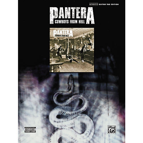 Hal Leonard Pantera - Cowboys From Hell Guitar Tab
