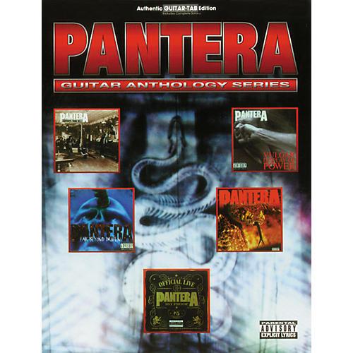 Hal Leonard Pantera Anthology Guitar Tab Songbook