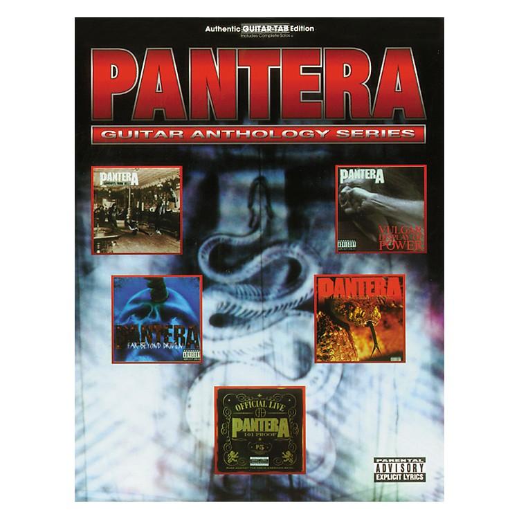 Hal LeonardPantera Anthology Guitar Tab Songbook