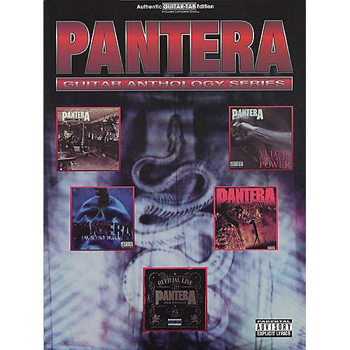Hal Leonard Pantera Guitar Anthology Guitar Tab Book