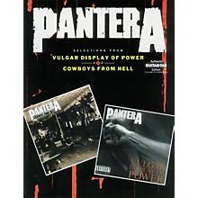 Alfred Pantera Guitar Tab Book