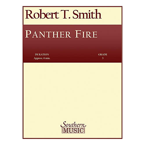Southern Panther Fire (Band/Concert Band Music) Concert Band Level 3 Composed by Robert T. Smith-thumbnail