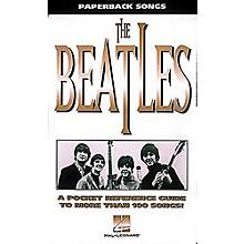 Hal Leonard Paperback Songs - Pocketsize Beatles Guitar Tab Book