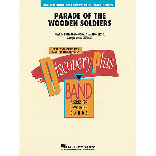 Hal Leonard Parade of the Wooden Soldiers Concert Band Level 2 Arranged by Eric Osterling