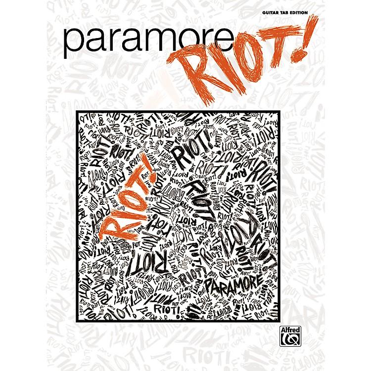 Hal LeonardParamore - Riot Guitar Tab Book
