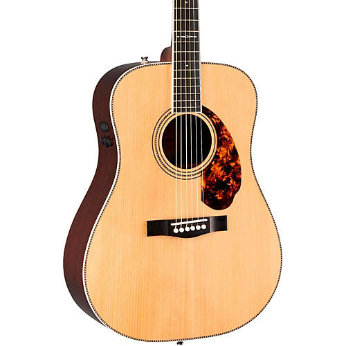 fender paramount series limited edition pm 1 dreadnought acoustic electric guitar natural. Black Bedroom Furniture Sets. Home Design Ideas
